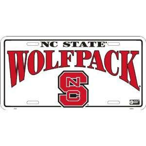 America sports North Carolina State Wolfpack LICENSE PLATES