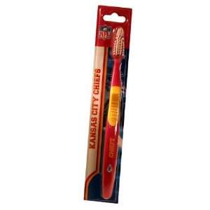 Kansas City Chiefs NFL Team Toothbrush (Set of 2) Sports