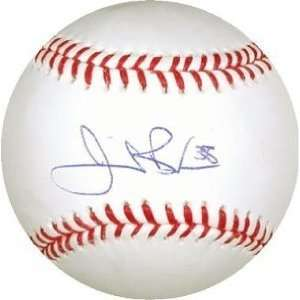 Bonderman Autographed/Hand Signed Official Major League Baseball