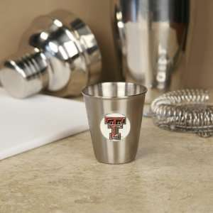 Texas Tech Red Raiders Stainless Steel Shot Glass