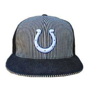 Indianapolis Colts NFL Reebok Fitted Hat Cap   Size 7 5/8