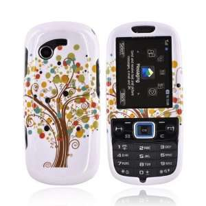 For Samsung Gravity 3 Hard Case Cover TREE WHITE