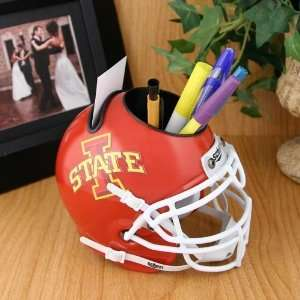 Schutt Iowa State Cyclones Mini Football Helmet Desk Caddy