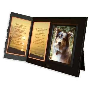 Poem Pet Loss Sympathy Picture Frame Gift and Memorial Keepsake