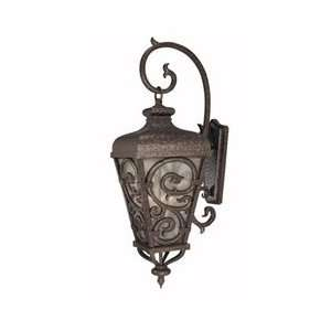 7142 56 Spaniard 4 Light Wall Mount Lantern in New Tortoise Shell