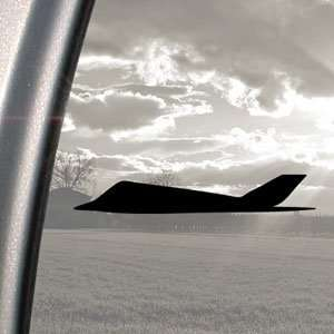 US Military Stealth Jet Black Decal Truck Window Sticker