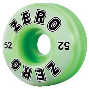 Zero Bold Swirl Skateboard Wheels   52mm (set of 4