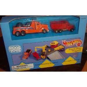 KOOL TOYZ Hot Wheels Truck Stop Playset Toys & Games