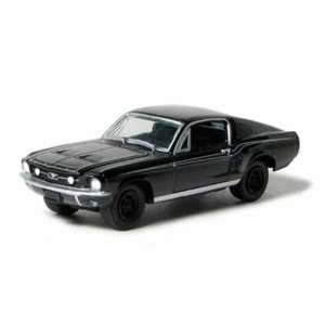 Ford Mustang Fastback 1/64 Black Bandit  Toys & Games