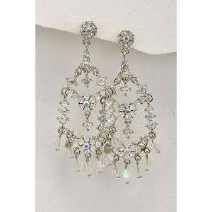 Fancy Lady Fashion Jewelry Princess Style Chandelier Earrings