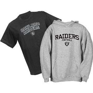 Oakland Raiders NFL Youth Belly Banded Hooded Sweatshirt