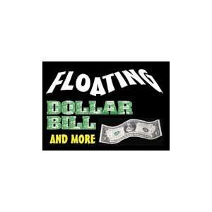 Floating Bill & More Kit Dollar Bills Money Magic Trick