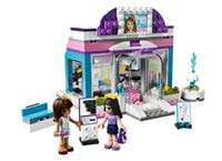 Butterfly Beauty Shop LEGO Friends set (221 pieces total) and