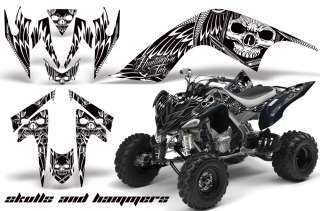 GRAPHIC ATV WRAP OFF ROAD DECAL STICKER KIT YAMAHA RAPTOR 700 SAHW