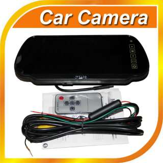 TFT LCD Car Reverse Rearview Color Mirror Monitor System x1