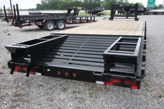 2012 Big Tex Trailers   14K GVWR Gooseneck Flatbed Equipment Trailer