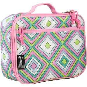 Wildkin New Lunch Box Pink Retro