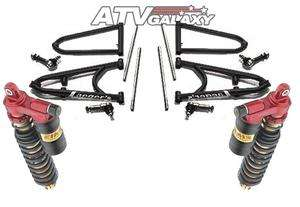 Laeger Elka Stage 3 Front Long Travel Suspension Kit Yamaha Raptor 700