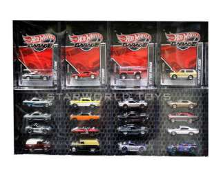 Hot Wheels Garage Set FORD VS GM 20 cars 1/64 SCALE NEW T8249 Real