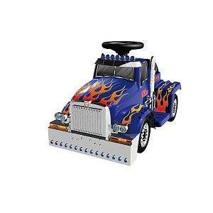 Optimus Prime Truck   6 Volt Ride On Toys & Games