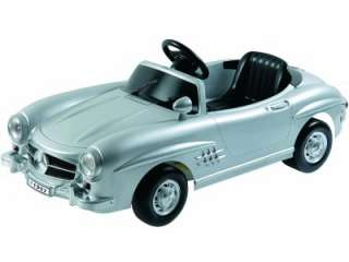 Mercedes Benz 300Sl W198 Silver Electric Child Kid Ride Toy
