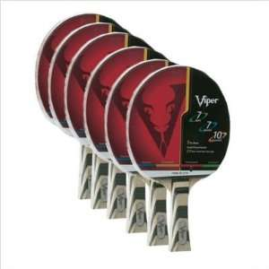 Viper 70 3110 Table Tennis Racket   Pack of 6 Sports